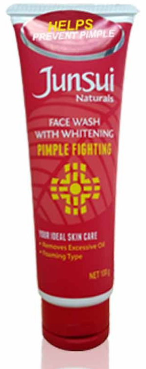 Buy Junsui Naturals Facial Wash Pimple Fighting 100 Gm Online At Best Price Rs 300 In